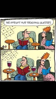 don't forget your reading glasses :) Beso de Vino.