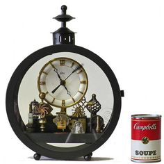 No 4749 Mantle Clock by SteampunkRoger on Etsy, $990.00