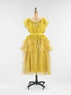 Evening Dress, Jeanne Lanvin, 1923, The Metropolitan Museum of Art