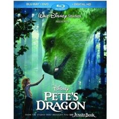 Pete's Dragon (Live Action) (2016) (Blu-ray + DVD + Digital HD) (Widescreen)