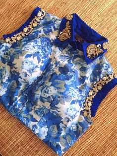 High neck blouse  Get it done at myTailor.in