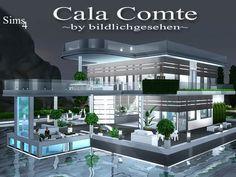Cala Comte house by Bildlichgesehen at Akisima • Sims 4 Updates