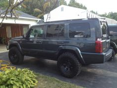 lifted jeep commander | 2006 Jeep commander 4.7l, 2'' lift, 245-75-17 bfg all terrain ...
