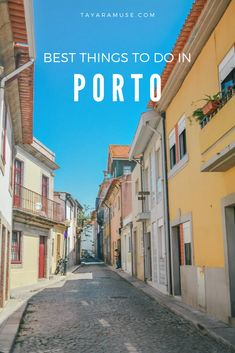 The ultimate list of best things to do in and around #Porto #Portugal, from day trips, to best food and famous attractions! Check out the full travel guide now.
