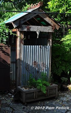 rustic outdoor showers - Google Search                                                                                                                                                                                 More