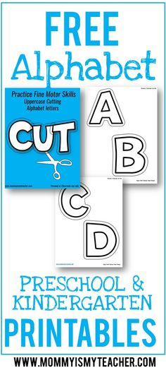 Wow, love these fine motor skills printables for my preschoolers! Great free preschool printables.