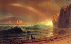 Albert Bierstadt (1830-1902), The Golden Gate - 1900