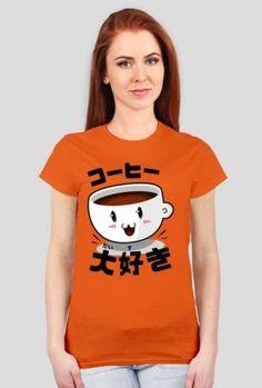 "http://originto.com/produkt/2504615-T-shirt-damski-Kocham-kaw-po-japo-sku.html  Damski t-shirt z japońskim napisem ""コーヒー 大好き (だいすき)"", oznaczającym ""kocham kawę"".  Women's t-shirt with japanese writting ""コーヒー 大好き (だいすき)"", meaning ""I love coffee""   #japoński #japonia #japan #japanese #nihon #nippon #nihongo #日本 #日本語 #koszulka #tshirt #t-shirt #sklep #koszulki #otaku #大好き #だいすき #コーヒー #coffee #print #druk #nadruk"