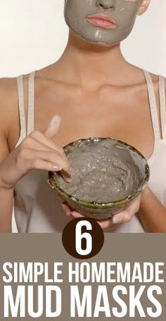 Mud masks have been a crucial part of the skin care arsenal of women since ages. Check out these DIY homemade mud mask recipes we have listed. Face Scrub Homemade, Homemade Face Masks, Diy Face Mask, Natural Hair Mask, Skin Tag Removal, Rosacea, Facial Masks, Fett, Make Up