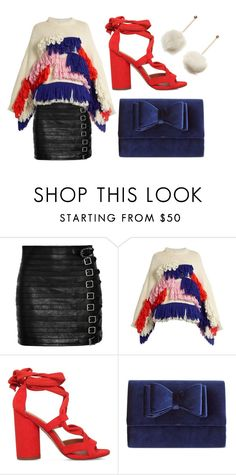 """""""Untitled #1921"""" by meryem-mess ❤ liked on Polyvore featuring Gucci, Delpozo, KG Kurt Geiger and INC International Concepts"""
