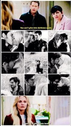 Emma Swan and Killian Jones - Once Upon a Time Once Upon A Time Funny, Once Up A Time, Ouat, Best Tv Shows, Best Shows Ever, Favorite Tv Shows, Between Two Worlds, Hook And Emma, Killian Jones