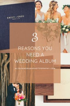 Wedding albums have started to make a comeback in the last few years and I am HERE FOR IT. Some people, however, seem to be under the impression that wedding albums are antiquated and not a necessity. This couldn't be farther from the truth. Here are three reasons why a wedding album is always a good idea. Wedding Advice, Wedding Planning Tips, Wedding Planner, New York Wedding, On Your Wedding Day, Photography Business, Wedding Photography, Wedding Albums, Just Engaged