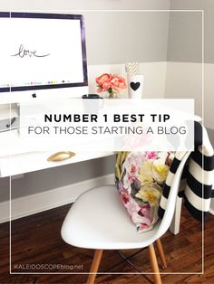 The Number One Best Tip For Those Starting a Blog | Kaleidoscope - Inspiration and beautiful resources for women bloggers | Photo by @ashleyelladsgn