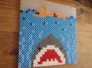 """Jaws"" in Perler Beads"