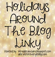 A First for Everything : Holidays around the blog