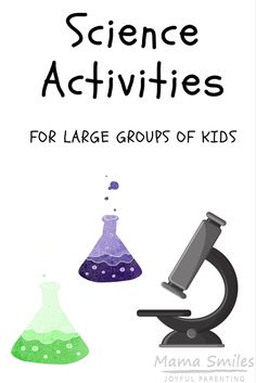 Easy Science Projects for Kids that work well with large groups, and can be used as science fair projects for school. Easy Science Projects for Kids that work well w Kids Science Fair Projects, Science Activities For Kids, Stem Science, Science Experiments Kids, Science Ideas, Stem Activities, Educational Activities, Kid Science, Science Geek