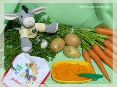 Der Möhren-Kartoffel-Rindfleisch-Brei eignet sich perfekt für die Einführung des Gemüse-Kartoffel-Fleisch-Brei und kann daher bereits ab dem Alter von