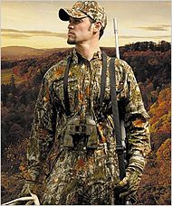 And this is why I like hunting so much.  A man in Camo. That's the sexiest thing. :)