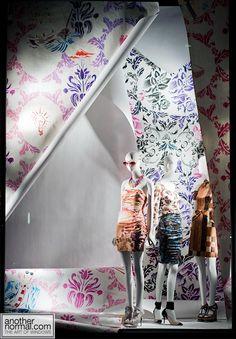 the wallpaper is curling, pinned by Ton van der Veer