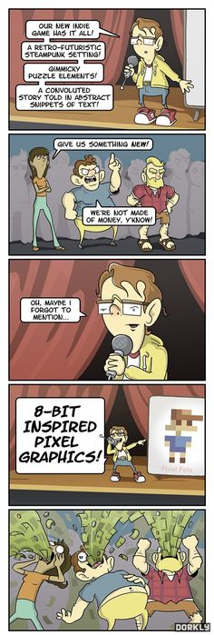 Dorkly Comics - Album on Imgur -- ah, ...god. uh, ...so ..you got a little something on your mouth there..