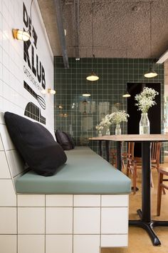 Restaurant De Klub, Utrecht, 2014 - Void interieurarchitectuur