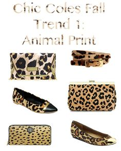 Chic Coles: Fall Trend 1 {Animal Print}