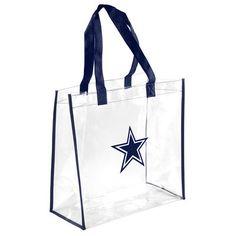 Dallas Cowboys Clear Reusable Bag