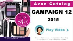 Avon Catalog Campaign 12 May 2015 -  http://www.GoHereToShop.com  -  The Campaign 12 Avon Catalog features the Big Hot Color Sale where you'll save on Avon Makeup favorites like lipstick, eye shadow, mascara & more!  You'll also find Father Day's gift ideas, Anew Skin Care products under $20 and a Buy One Get One on Skin So Soft Bath Oils and other select SSS products.  Go ahead and take a look before these deals end!  http://www.GoHereToShop.com