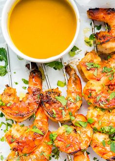 Miso Grilled Shrimp with Mustard Soy Sauce- used jalapeño instead of ...