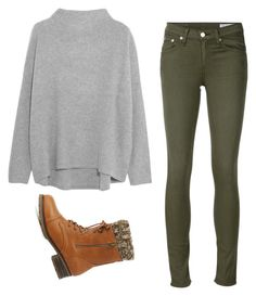 """""""Winter ootd"""" by danielle09-1 on Polyvore featuring Vince, rag & bone/JEAN and Charlotte Russe"""
