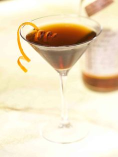 2 oz. Bourbon  1 oz. lemon  ¾ oz. maple syrup  ½ oz. apple cider  Garnish: cinnamon stick  Combine all ingredients in a cocktail shaker, add ice and shake. Strain into a chilled glass, and garnish with a cinnamon stick.  Source: Restaurant 1833   - Cosmopolitan.com