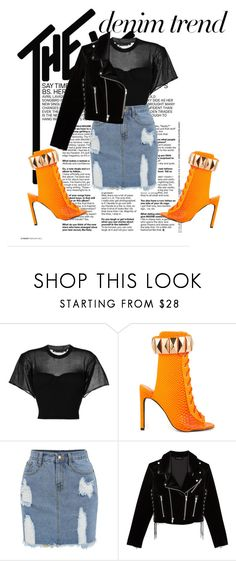 """twb"" by petrescudenisa on Polyvore featuring Alexander Wang, Privileged and The Kooples"