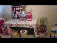 Como hacer un Escritorio de Sofa de Carton - Escritorio movil - Muebles de Carton - DIY - YouTube