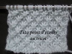 TUTO POINT D'ETOILE AU TRICOT star knitting stitch