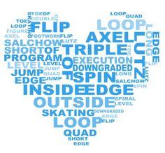 Figure Skating heart