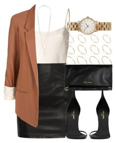 Style #4829 by vany-alvarado on Polyvore featuring polyvore fashion style The Row BLK DNM Yves Saint Laurent Marc by Marc Jacobs ASOS clothing