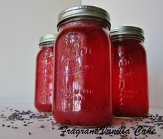 Blackberry Lemon Lavender Kombucha @Nicole Novembrino Lee Vanilla Cake  #kombucha  Also check out: http://kombuchaguru.com
