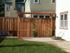 another privacy fence - Patio Privacy Screen