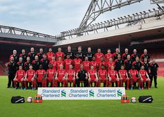 Liverpool team group in Squad Photos, Team Photos, Liverpool Fc Team, Soccer Shoes, Seasons, Sports, Legends, March, Group