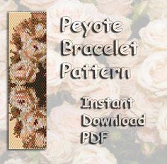 Peyote Bead Pattern Seed Bead Pattern Miyuki Delica PDF