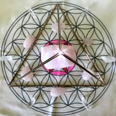 Part of my daily morning #ritual to send good juju to this #magicmaker #sacredgeometry