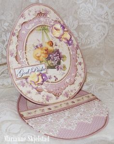 """Easter card using Pion's """"Easter Greetings"""" paper collection"""