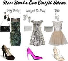 New Year's Eve Outfit Ideas - man I wish I could get dressed up one New Year's Eve ...