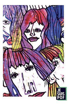 Illustrazione fatta a mano - Stampa su carta opaca 300gr - COQUETRY 2016