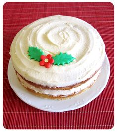 Tarta de vainilla  Vanilla cake
