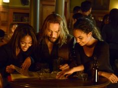 Abbie, Ichabod and Jenny - season 2