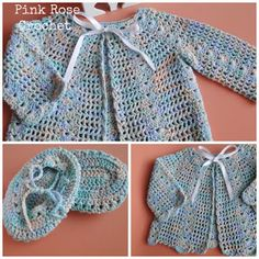 PINK ROSE CROCHET: Bebê