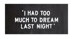 Busy nights..