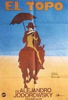 El Topo by Alejandro Jodorowski weirdest movie I have ever seen Cool Posters, Film Posters, Westerns, Western Film, Great Films, Horror Movies, Bury, Crazy Movie, Moebius Art