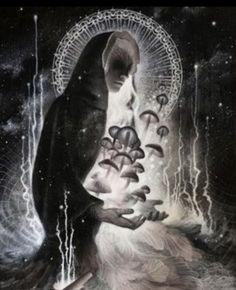 Senu-mate - Latvian Mother Goddess of Mushrooms